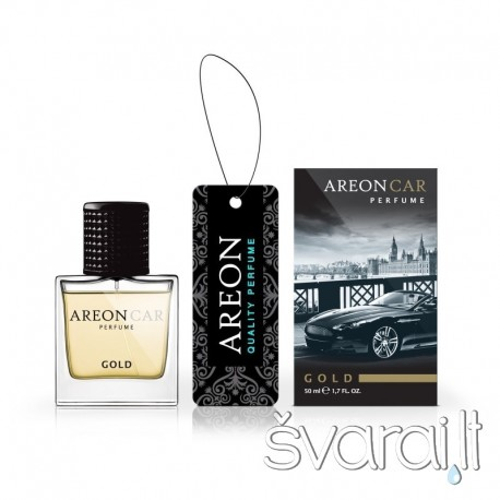 Areon auto oro gaiviklis CAR PERFUME 50ml - Gold