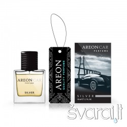 Areon auto oro gaiviklis CAR PERFUME 50ml - Silver